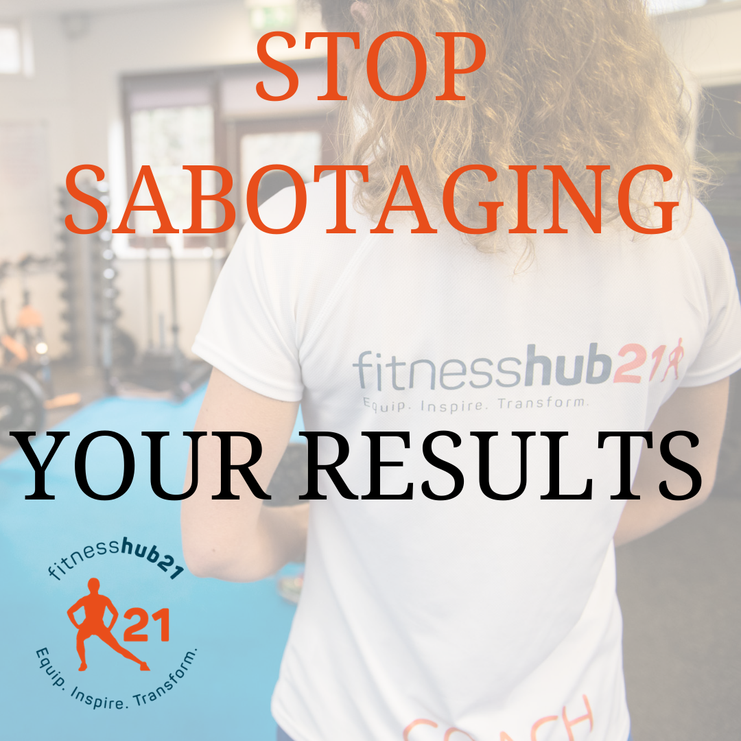 fat loss, self sabotage